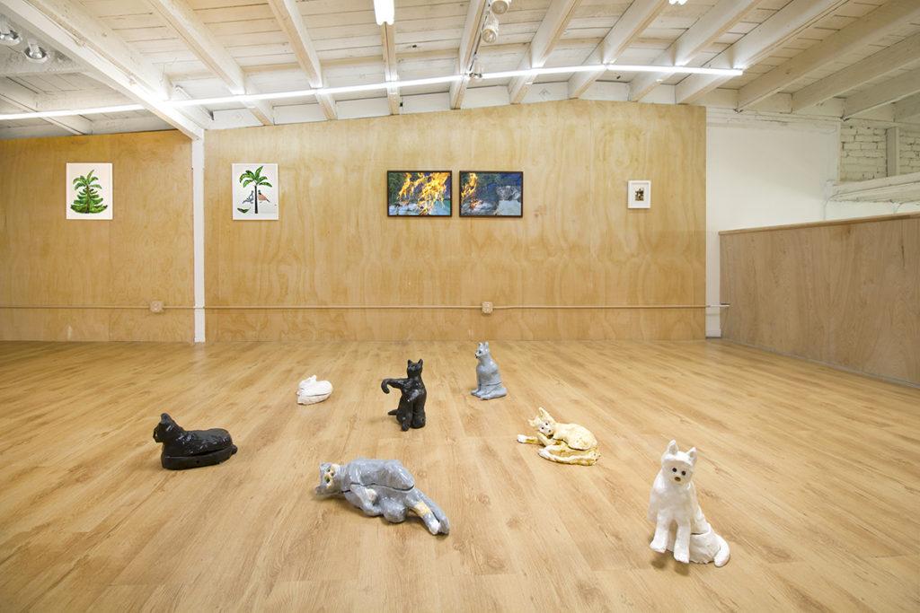 Installation image of Johanna Breiding Souvenir at Ochi Projects, Los Angeles