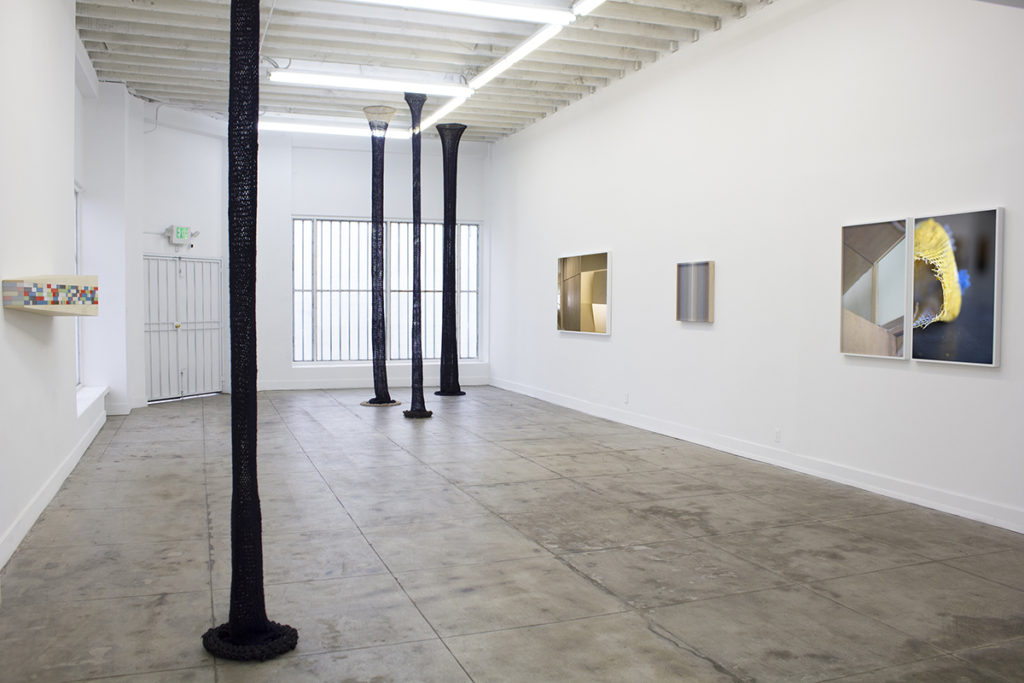 Installation image of Un-structure at Ochi Projects, Los Angeles